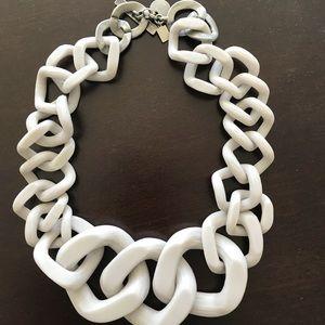 Jewelry - Gray statement neckalace